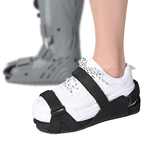 Cam Lift - Sportuli Shoe Balancer for Walker Brace Walking Boot to Even Height, Shoe Lift for Cam Boot Level up for Foot Injuries to Reduce Body Strain for Men and Women (Medium (Men's 6.5-8.5 / Women's 7-9))