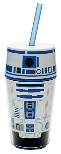 Zak Designs Star Wars 14 oz. Insulated Travel Tumbler, R2D2