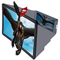 For iphone mobile -3D screen magnifier HD video foldable stand