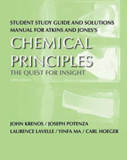 Chemical principles the quest for insight peter atkins loretta student study guide and solutions manual for chemical principles the quest for insight fandeluxe Images