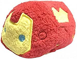 Marvel Tsum Tsum Iron Man Mini Plush Red