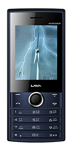 Lava KKT 40 Power  Blue Black
