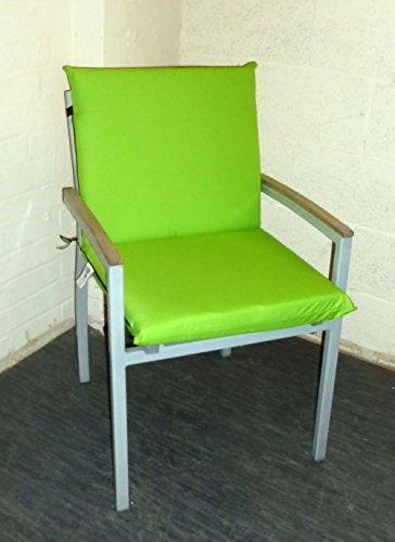 Amazon.com: Zippy Waterproof Low Back Armchair Chair Cushion ...