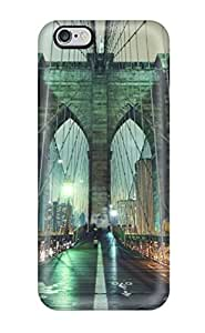 New Style 3809925K84168412 Premium Iphone 6 Plus Case - Protective Skin - High Quality For Brooklyn Bridge