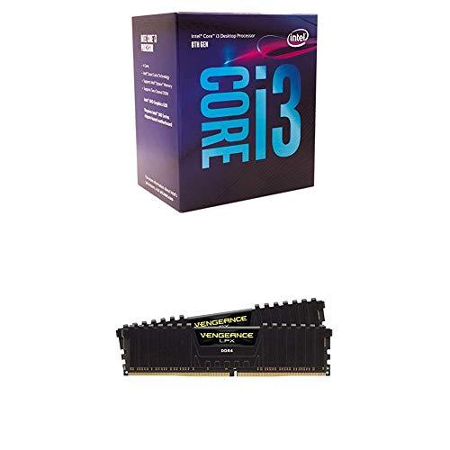 Intel 8th Gen Core i3-8100 Processor and CORSAIR Vengeance L