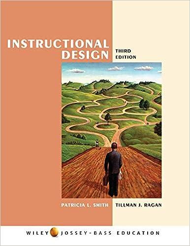 Instructional Design Smith Patricia L Ragan Tillman J 9780471393535 Amazon Com Books
