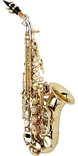 Yanagisawa 9930 Sterling Series Soprano Saxophone Curved Body