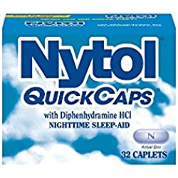 Nytol Nighttime Sleep Aid Quick Capsules, 32 Count
