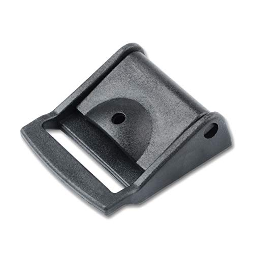 Multi-Size Cam Buckle Webbing Buckle Plastic Adjustable Buckles Toggle Clip(6pcs,32mm)