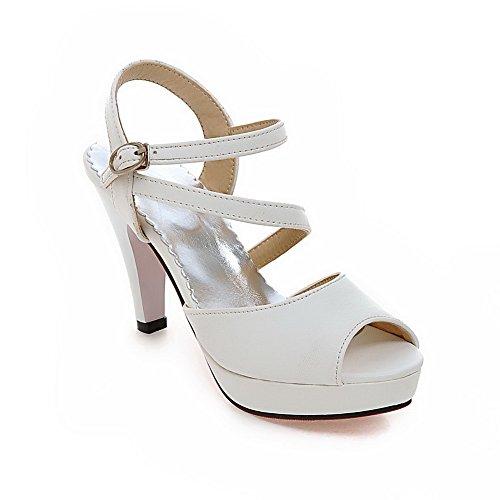 AN Ballerine Bianco 35 White Donna wpwqX6