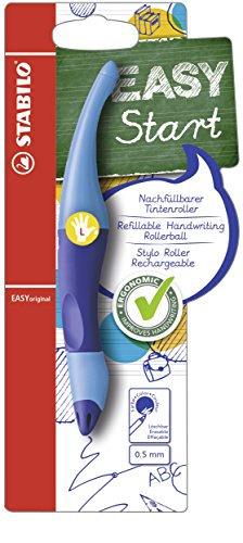 Stabilo EASYoriganl Rollerball Pen (Left-Handed), 0.5 mm - Dark Blue/Light Blue