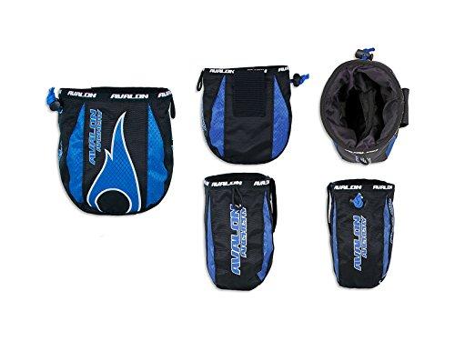 Avalon Tec X Release Fingertab Tasche blau Bag Beutel für Seitenköcher FITA WA Pfeilköcher Bogensport Bogenschiessen Archery Quiver OV2WxfioIp