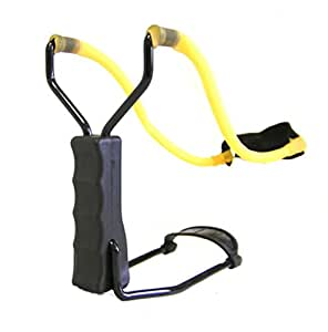 RICHY GLORY- Ourdoor Product Yellow Bands Powerful Wrist Folding Slingshot