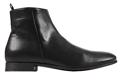 df630214371 Prada men's genuine leather ankle boots new vintage black Cod ...