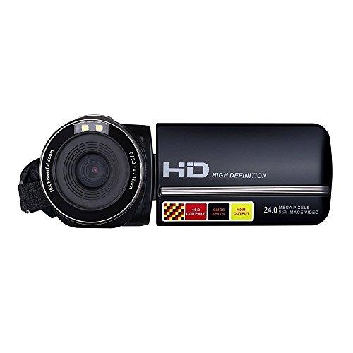 Camcorders, LESHP 301 FHD 1080P IR Night Vision Max. 24.0 MP