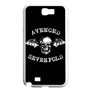 Samsung Galaxy N2 7100 Cell Phone Case White Avenged Sevenfold SLI_493851