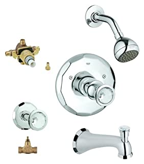 Grohe KTS19265-34331RV3-VP0 Kensington Tub and Shower Valve Kit (B008V5RYJQ) | Amazon price tracker / tracking, Amazon price history charts, Amazon price watches, Amazon price drop alerts