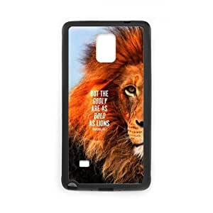 Clzpg Customized Samsung Galaxy Note4 Case - Lion shell phone case
