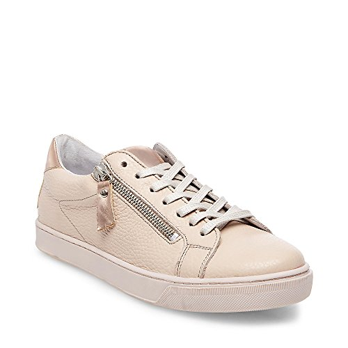 Steve Madden Women's Stealthh Blush Leather Sneaker 9 M