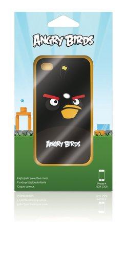 """Gear 4 """"Angry Birds"""" Handy-Schutzhülle für iPhone 4 / 4S - Schwarz"""