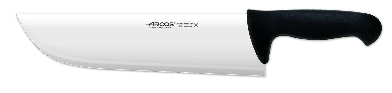 Arcos 12-Inch 300 mm 640 gm 2900 Range Cleaver, Black