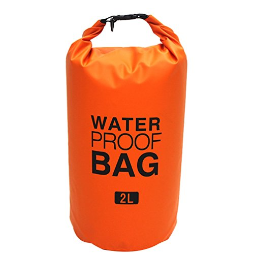 Kayaking Beach Waterproof 10l 5l Bag 2l Adjustable Rafting With Orange 30l Storage Sunwanyi Straps Camping Boating 15l Shoulder Canoeing 30l Dry Xzwdqq7