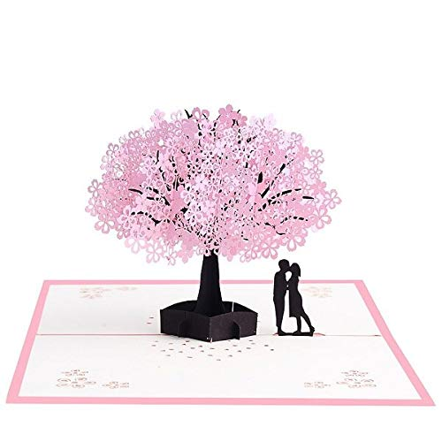 Love pop cards birthday- 3D Pop Up Cards Flowers Card Mothers Day Wedding Anniversary Birthday Gifts Card Greeting Cards for All Occasions Wife Her Girl (17)