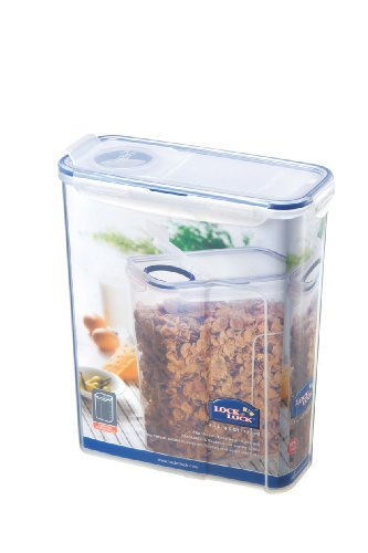 LOCK & LOCK 145.6-Fluid Ounce Slender Container with Flip Lid, 18.2 Cup