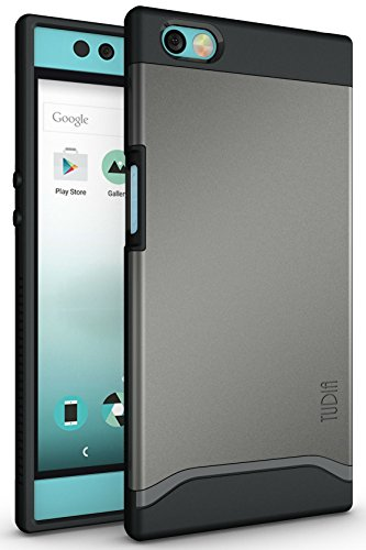 TUDIA Nextbit Robin Case, Slim-Fit Heavy Duty [Merge] Extreme Protection/Rugged but Slim Dual Layer Case for Nextbit Robin (Metallic Slate)