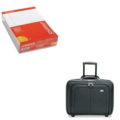 KITSML110211041UNV20630 - Value Kit - Samsonite Cosco Mobile Office Notebook Case (SML110211041) and Universal Perforated Edge Writing Pad (UNV20630) by Samsonite