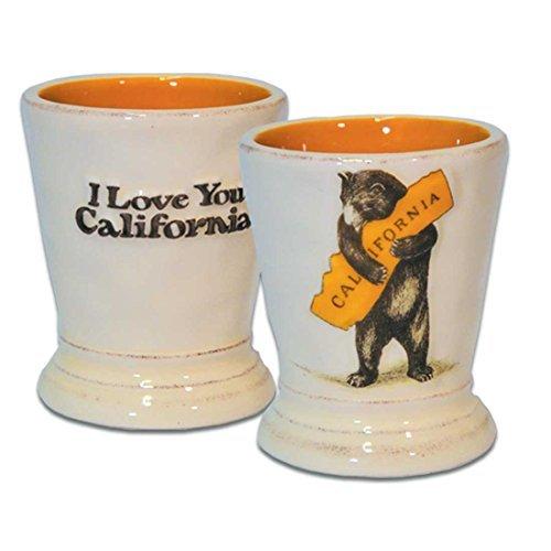 Love Shot Glass - California Bear Hug Shot Glass