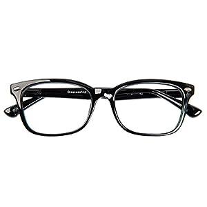 Glassesshop Vintage Black Hyannis Rectangle Eyeglasses Frame
