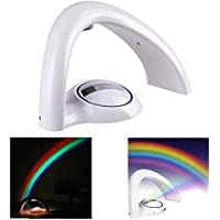 NOPTEG Rainbow Projector Room Night Light LED Color Lamp...