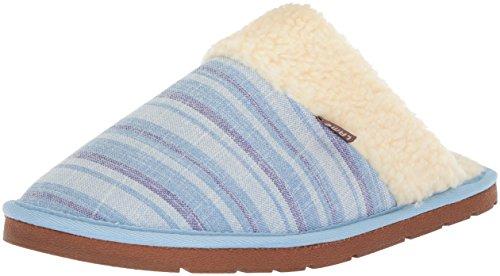 Women's Scuff Stripe Lamo Purple Blue Slipper Aria x4EwqTdwg