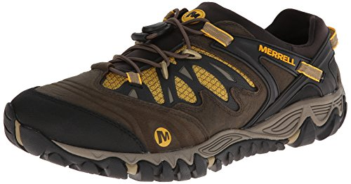Merrell Men's All Out Blaze Stretch Hiking Shoe,Canteen/Brown,9.5 M US
