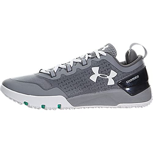 Under Armour Mens Charged Ultimate TR Low Cross Training Shoes (11 D(M) US,  Steel/Graphite/White)