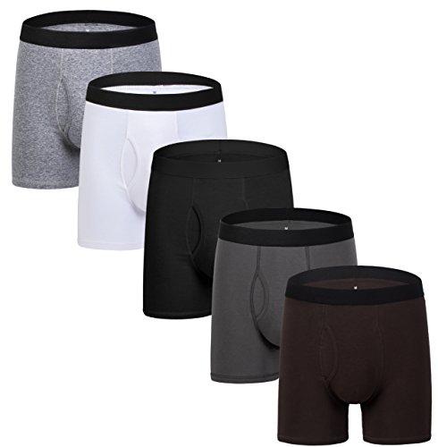 5Mayi Boxer Briefs Mens Underwear Men Pack of 5 Men's Underwear for Men and Boys XXL