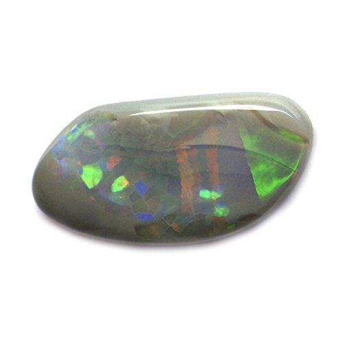 4.15 Ct. Natural Fancy Cabochon Multi-color Opal Australian Loose Gemstone
