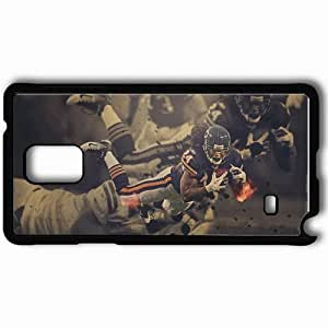 Personalized Samsung Note 4 Cell phone Case/Cover Skin 1463 chicago bears Black