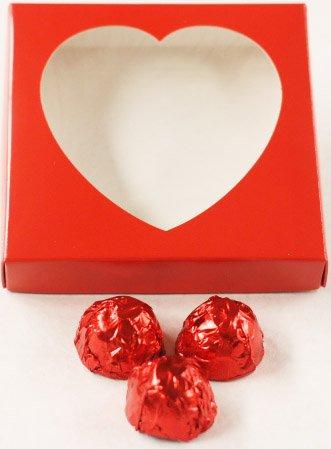 Scott's Cakes Dark Chocolate Covered Rum Cherries in a 8 oz. Heart (Cherry Rum)