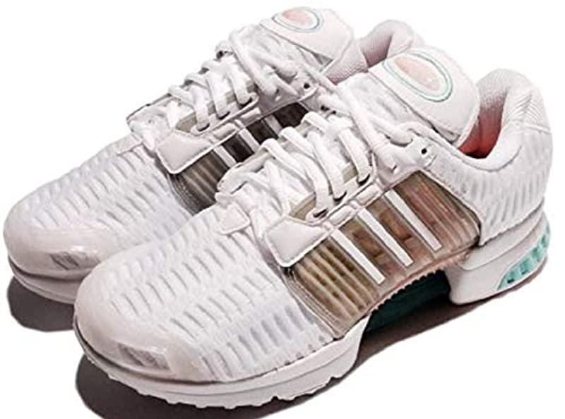 adidas 아디다스 Originals 오리지널스 스니커즈 런닝 슈즈 24.5cm 《구라이마쿠루》 CLIMACOOL 1 W 국내 정규품 BB2877 런닝 화이트/클리어 오니(귀신) 키스