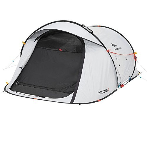 QUECHUA 2 Seconds Easy II Fresh&Black TENT – 2 Man