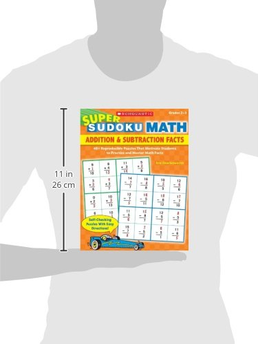 Super Sudoku Math: Addition & Subtraction Facts: 40+ Reproducible ...