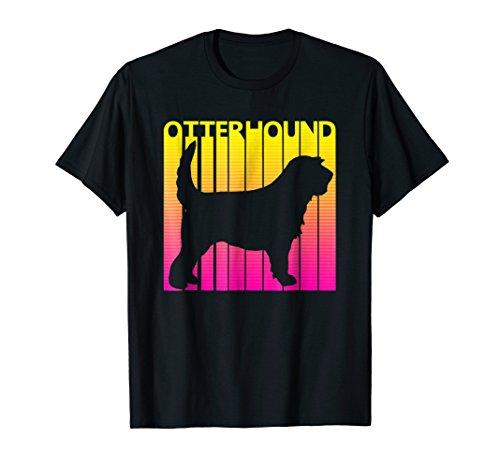 Vintage Otterhound t-shirt Funny Gift For Dog Lover