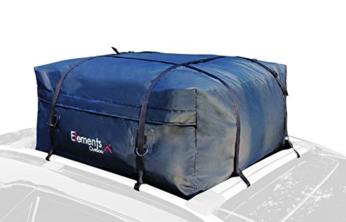 Elements Outdoor Waterproof Roof Top Cargo Bag – 15 Cubic Feet (Roof Rack Element)