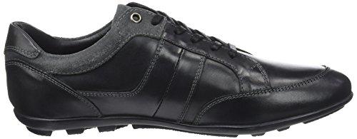 Levis Herren Clear Sneakers Schwarz (Regular Black)
