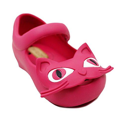 Melissa Girls Mini Ultragirl II Pink Synthetic Flat Shoes 5