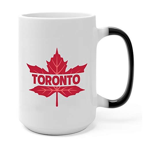 (Toronto Maple Leaf Of Canada Flag - Proud Canadian Mug 15 Oz Color Changing)