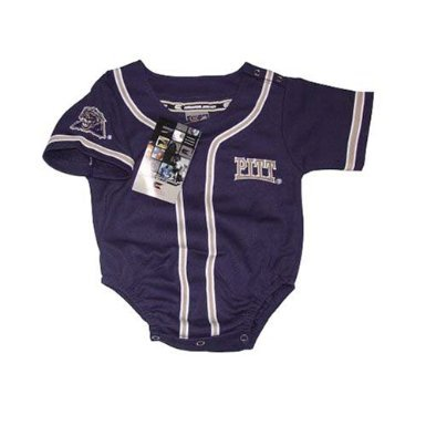 Pittsburgh Panthers - University of- NCAA Baseball Infant/baby Onesie Jersey 12-18 (Pittsburgh Panthers Jerseys)