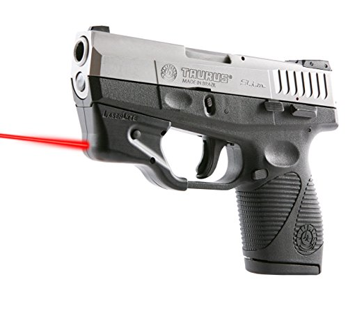 LASERLYTE-Laser-Sight-Trainer-for-TAURUS-TCP-SLIM-380-9-40-LASER-DOT-for-fast-aim-LASER-TRAINER-for-firearm-training-PUSH-BUTTON-activation-for-simple-use-AUTO-OFF-to-save-battery-life-UPGRADED-adjust